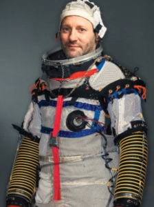 Cameron Smith in a Spacesuit